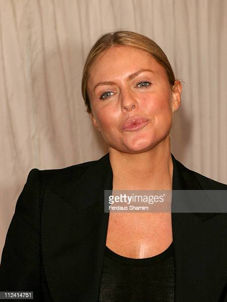 Patsy Kensit during ITV's 'Hell's Kitchen' Arrivals June 4 2004 at Brick Lane in London Great Britain