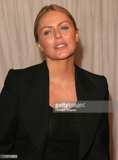 "Patsy Kensit during ITV's ""Hell's Kitchen"" - Arrivals - June 4, 2004 at Brick Lane in London, Great Britain."