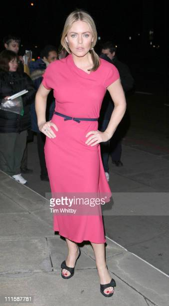Patsy Kensit during Royal Television Society Programme Awards Outside Arrivals at Grosvenor House Hotel in London Great Britain