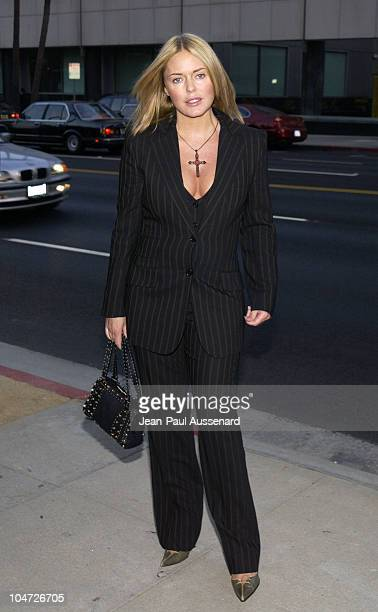 Patsy Kensit during 'Slap HerShe's French' Premiere AfterParty at Academy of Motion Picture Arts and Sciences in Beverly Hills California United...