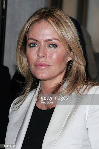 Patsy Kensit during 'Stoned' London Premiere at The Apollo Cinema 19 Regent Street in London Great Britain