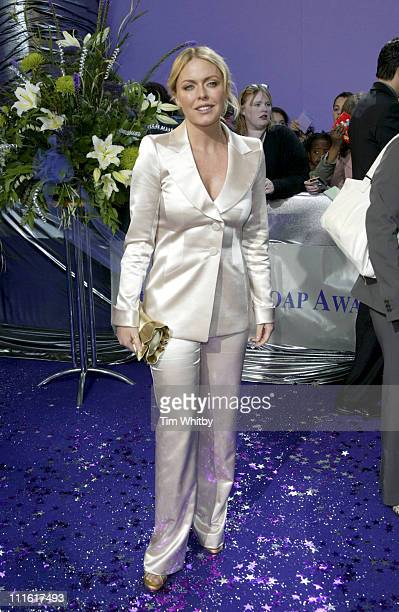 Patsy Kensit during The 2005 British Soap Awards Arrivals at BBC Tv Studios in London Great Britain