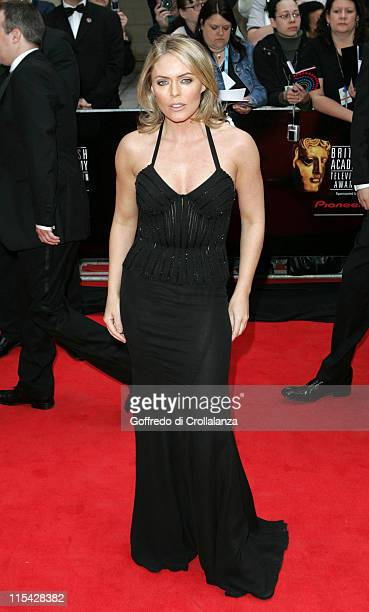 Patsy Kensit during The 2006 British Academy Television Awards Arrivals at Grosvenor House Hotel in London Great Britain