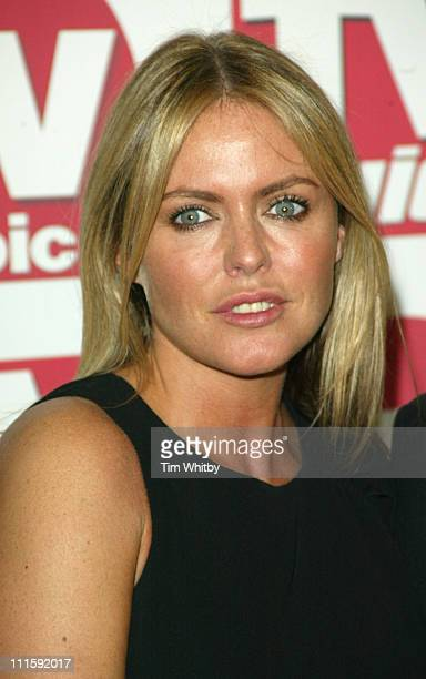 Patsy Kensit from Emmerdale with the award for Best Soap Storyline