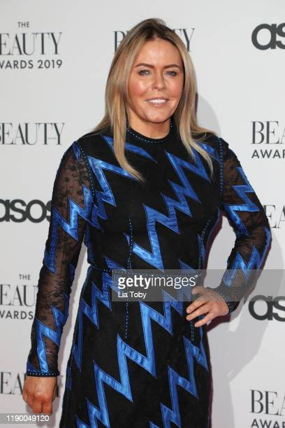 Patsy Kensit The Beauty Awards 2019 on November 25 2019 in London England