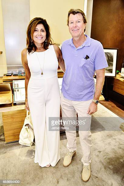 Patsy Marshall and Tim Marshall attend David Yurman with RIVIERA host an instore event to celebrate the 'Enduring Style' fall campaign on September...