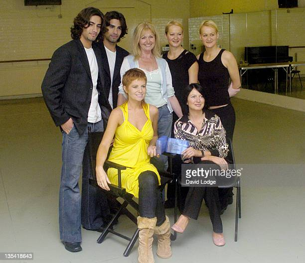 Patsy Palmer and Charlotte Cutler and guests