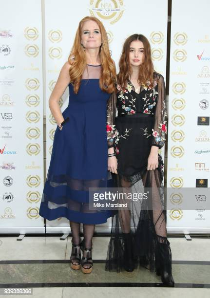 Patsy Palmer and Emilia Merkell attend the National Film Awards UK at Portchester House on March 28 2018 in London England