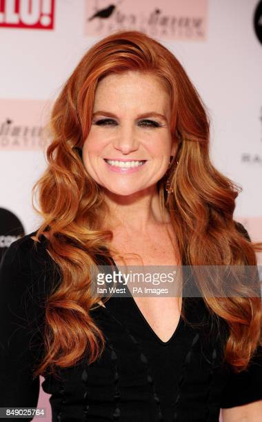 Patsy Palmer arrives at the Amy Winehouse Foundation Ball in London