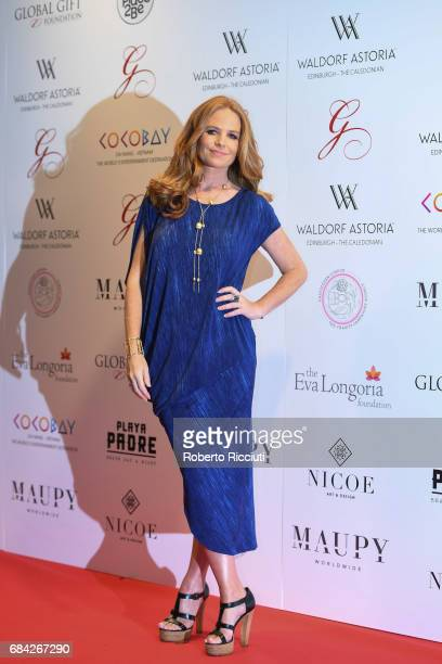 Patsy Palmer attends The Global Gift Gala Edinburgh at The Caledonian Hotel on May 17 2017 in Edinburgh Scotland