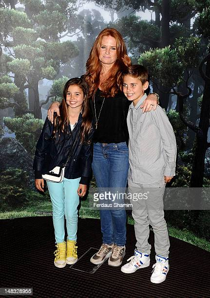 Patsy Palmer attends the UK premiere of 'Brave' at BAFTA on July 14 2012 in London England