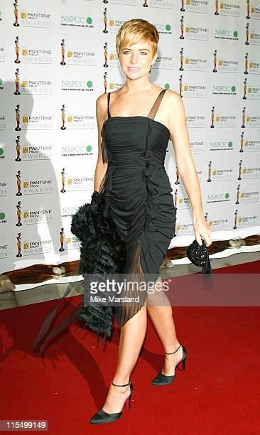 Patsy Palmer during 2003 Pantene ProV Awards Arrivals at The Royal Albert Hall in London Great Britain