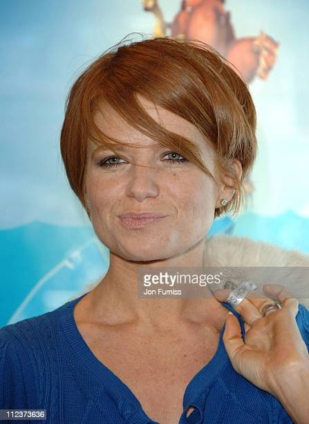 Patsy Palmer during 'Ice Age 2 The Meltdown' London Premiere Inside Arrivals at Leicester Square in London Great Britain