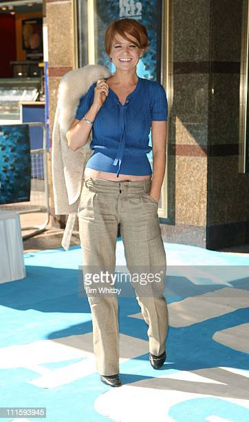 Patsy Palmer during 'Ice Age 2 The Meltdown' London Premiere Outside Arrivals at Leicester Square in London Great Britain