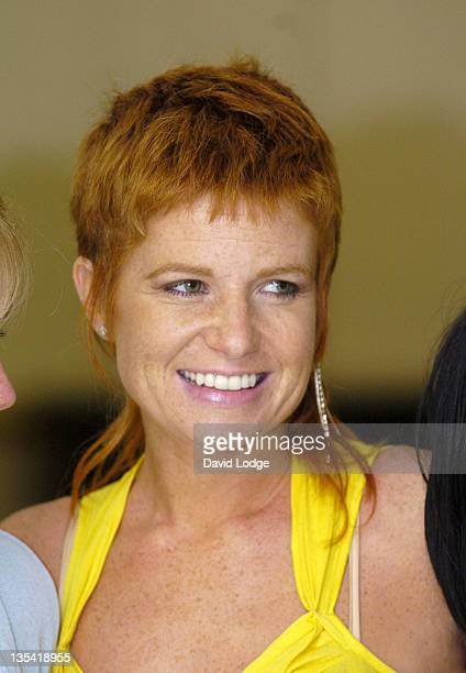 Patsy Palmer during It is Palmer Cutler Photocall to Launch Palmer Cutler Beauty Company at Pineapple Studios in London Great Britain
