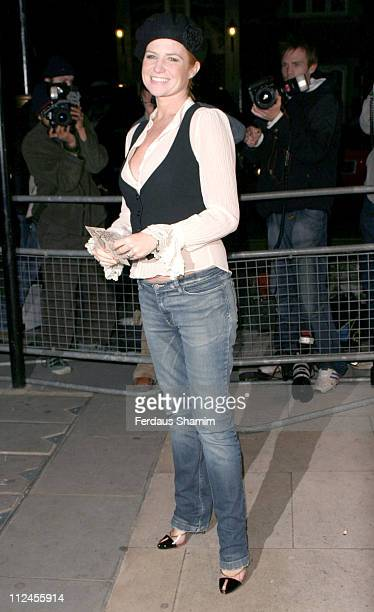 Patsy Palmer during Reach 4 Fashion Arrivals November 8 2005 at 88 St James's Street in London Great Britain
