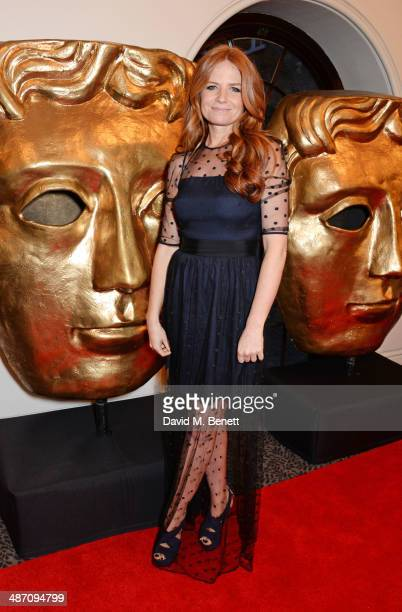 Patsy Palmer poses in the press room at the BAFTA Television Craft Awards at The Brewery on April 27 2014 in London England