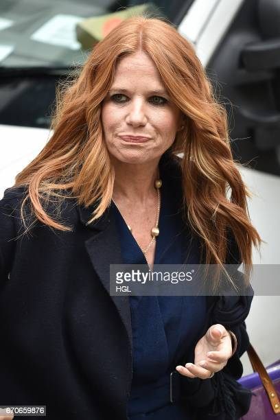 Patsy Palmer seen at the ITV Studios on April 20 2017 in London England