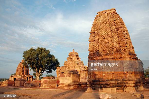 pattadakal temples - karnataka stock pictures, royalty-free photos & images