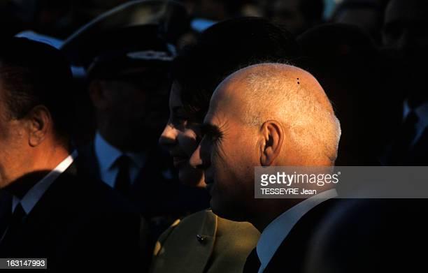 Pattakos Greek Minister Of The Interior En Grèce en juin 1967 portrait de profil Stylianos PATTAKOS ministre de l'Intérieur portant un costume cravate