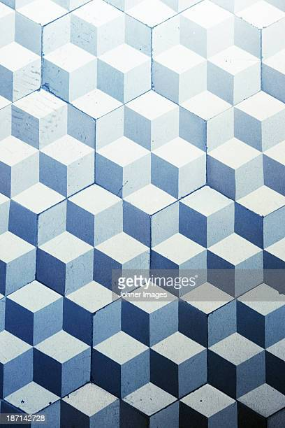 pattern floor, close-up - geometric design stock photos and pictures