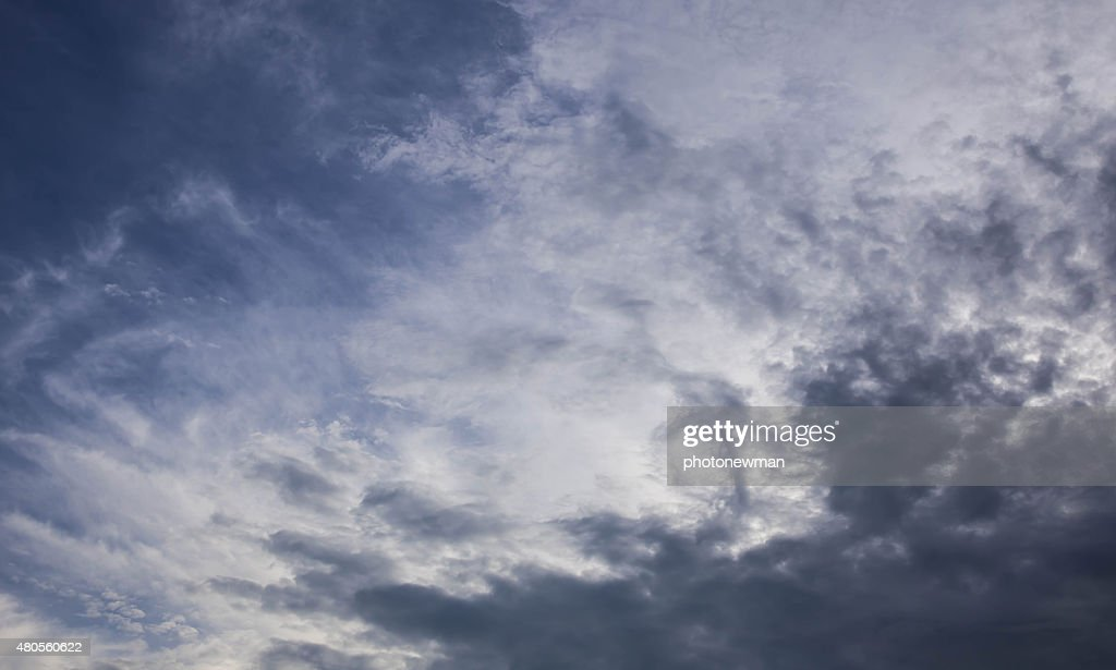 Pattern of clouds in the sky : Stock Photo
