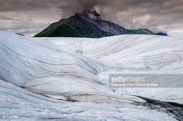 Pattern of Glacier