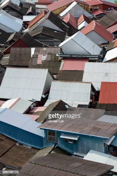Pattern of zinc roof