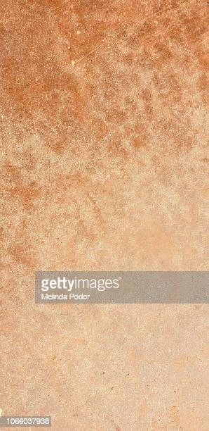 Patterned background, rust brown