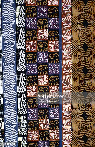 Patterned fabric detail