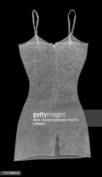 patterned strapped dress, x-ray - needlecraft stock pictures, royalty-free photos & images