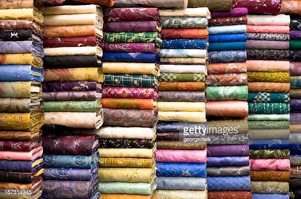 Patterned Textile Fabrics on Display