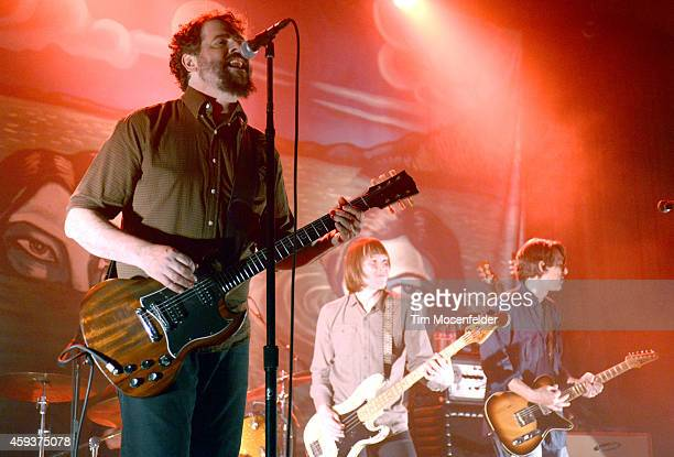 Patterson Hood Matt Patton and Mike Cooley of The DriveBy Truckers perform at The Fillmore on November 20 2014 in San Francisco California