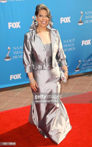 Patti Austin arrives at the 39th NAACP Image Awards held at the Shrine Auditorium on February 14 2008 in Los Angeles California