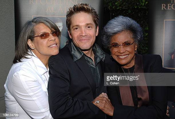 Patti Austin Dave Koz and Nancy Wilson during The Jazz Experiment Smooth Straight Ahead at Vibrato in Los Angeles California United States