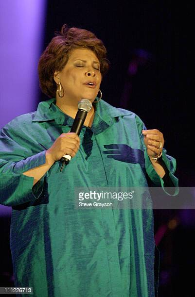 Patti Austin during KTWV 947 A Wave of Peace Benefit Concert at The Great Western Fourm in Inglewood California United States