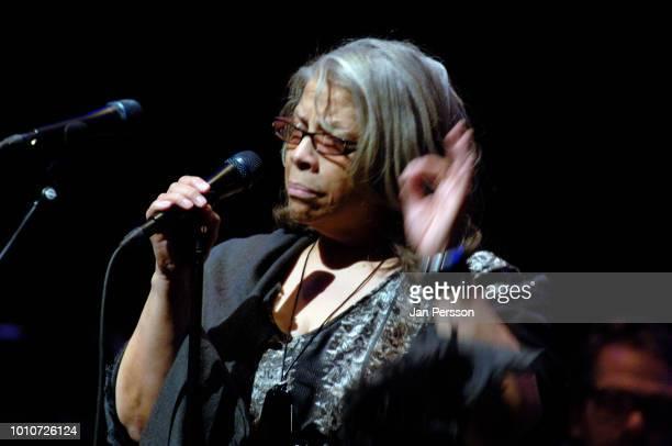 Patti Austin performing Copenhagen 22 September 2013 American R and B pop and jazz singer