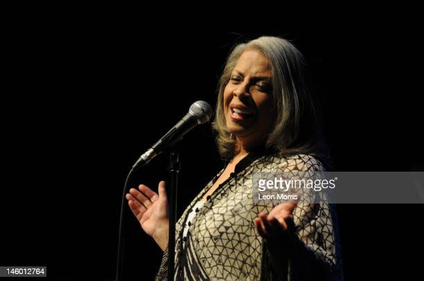 Patti Austin performs on stage during the Melbourne International Jazz Festival at the Melbourne Recital Centre on June 9 2012 in Melbourne Australia