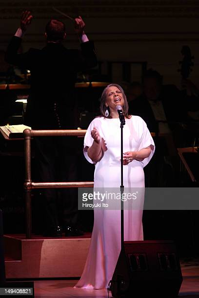 Patti Austin sings Ella Fitzgerald's Gershwin songbook with the New York Pops led by Steven Reineke at Carnegie Hall on Friday night March 16 2012