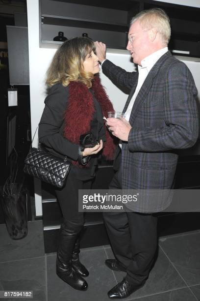 Patti D'Arbanville and Gil Donaldson attend 8TH ANNUAL BoCONCEPT/KOLDESIGN HOLIDAY PARTY at BoConcept on December 14 2010 in New York City