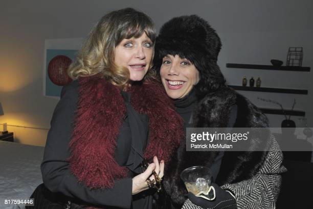 Patti D'Arbanville and Mel Gorham attend 8TH ANNUAL BoCONCEPT/KOLDESIGN HOLIDAY PARTY at BoConcept on December 14 2010 in New York City