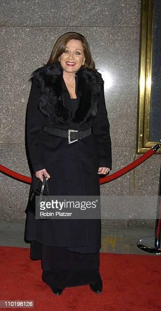Patti D'Arbanville during The Sopranos Fifth Season Premiere at Radio City Music Hall in New York City New York United States