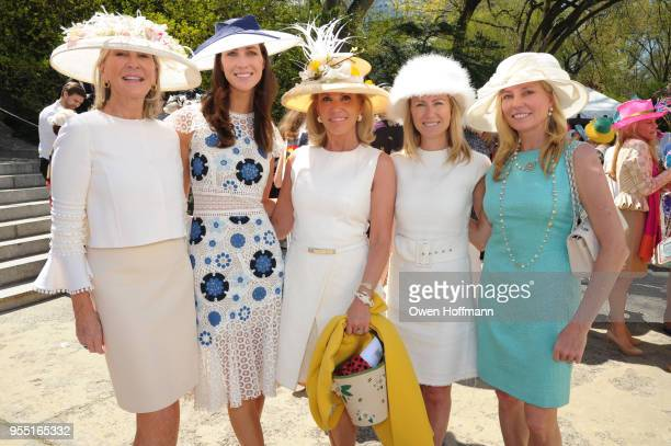 Patti Fast Christina Adamson and Guests attend 36th Annual Frederick Law Olmsted Awards Luncheon Central Park Conservancy at The Conservatory Garden...