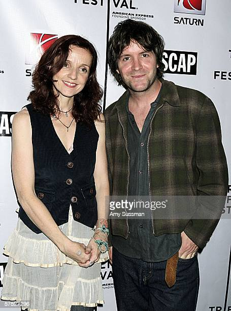 Patti Griffin and Tim Easton attend the Tribeca/ASCAP Music Lounge at the Canal Room May 3 2006 in New York