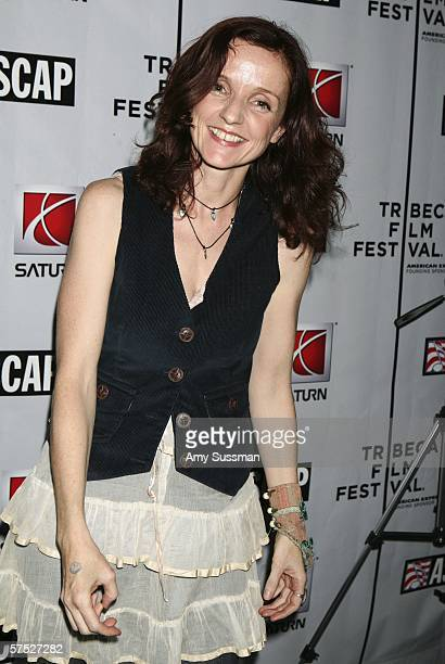 Patti Griffin attends the Tribeca/ASCAP Music Lounge at the Canal Room May 3 2006 in New York