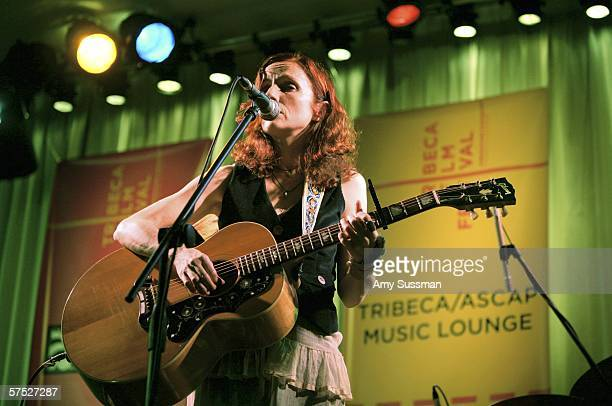 Patti Griffin performs at Tribeca/ASCAP Music Lounge at the Canal Room May 3 2006 in New York