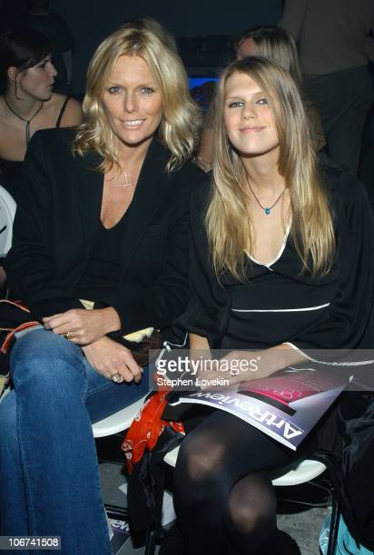 Patti Hansen and Alexandra Richards during Premiere Fashion Show and Benefit Reception For Jamison Ernest's Yellow Fever Clothing Line at 250 Hudson...