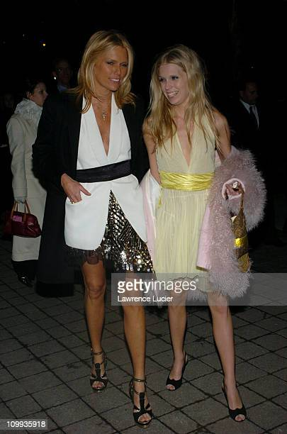 Patti Hansen and Diadora Richards during Louis Vuitton Celebrates its 150th Anniversary at Lincoln Center in New York City New York United States