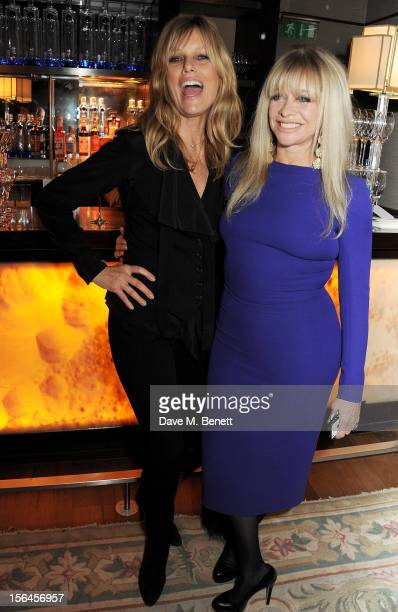 Patti Hansen and Jo Wood attend an after party celebrating the launch of 'Kate The Kate Moss Book' hosted by Marc Jacobs published by Rizzoli New...