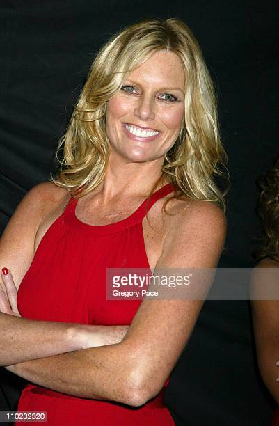 Patti Hansen during Olympus Fashion Week Fall 2005 Heart Truth Red Dress Collection Special PostShow Meet and Greet with First Lady Laura Bush at...